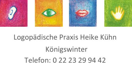 Logopädische Praxis in Königswinter, Heike Kühn, Sprach- und Sprechstörungen, LRS, Sanjo, Sprachstörungen, Schlaganfall, Leseschwäche